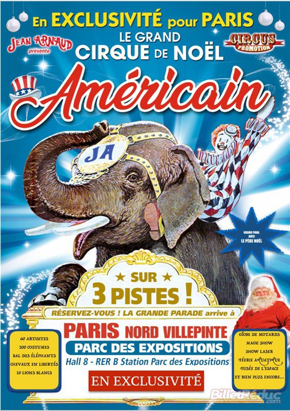 le grand cirque de noèl AMERICAIN !!!