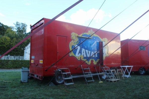 le cirque nicolas ZAVATTA installé aux essarts !!!!