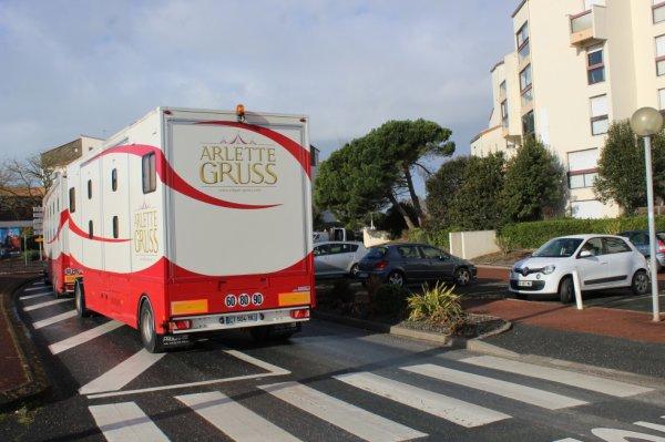 l arrivée du cirque ARLETTE GRUSS à la rochelle !!!