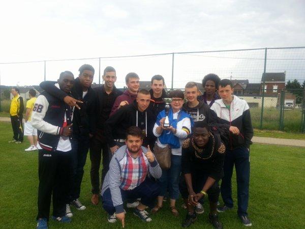victoire des U21 au tournoi de FLAWINNE