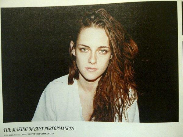 Miss Kristen pour W magazine !♥