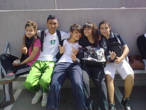 L'équipe du collège