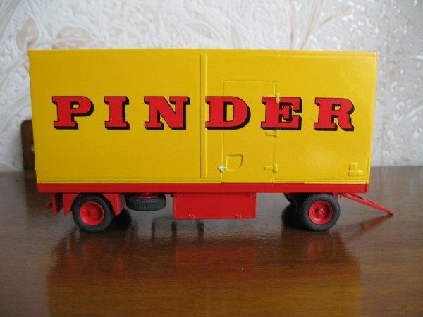 Remorque Pinder terminée.