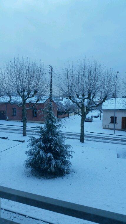 Jour de neige  !!