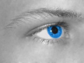 ** Mon Oeil Droit-Bleu **