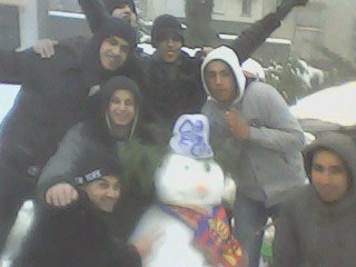 wlad houma é notre bonhomme de neige