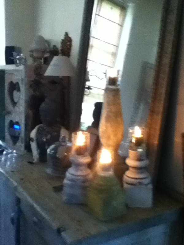bougeoirs balustre