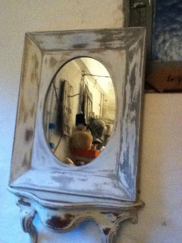 Miroir et console