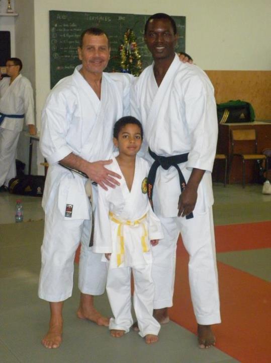 Serge Serfati,Eric mon fils et moi même