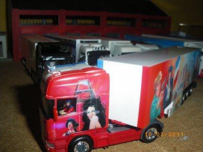 Notre Scania sur la route