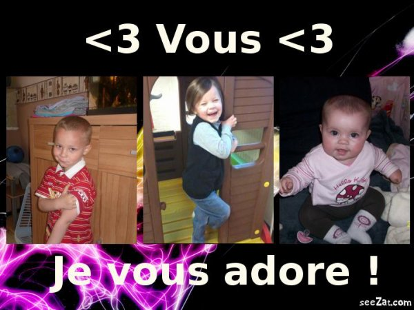 <3 ______ mEs Z'aMoUrS ______<3