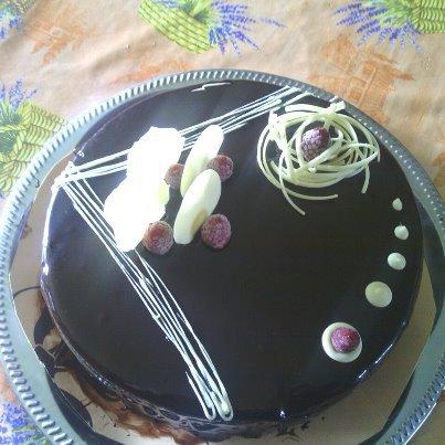 Entremet chocolat pour une amie :)