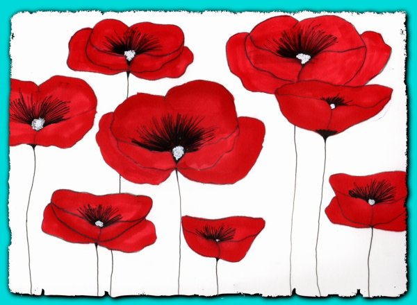 gentils coquelicots mesdames......