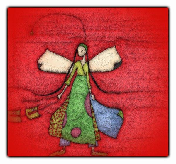 la fille au cerf-volant