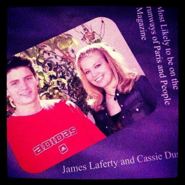News from James Lafferty!