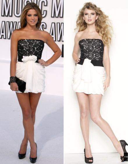 Qui porte le mieux ? Taylor ou Ashley ?