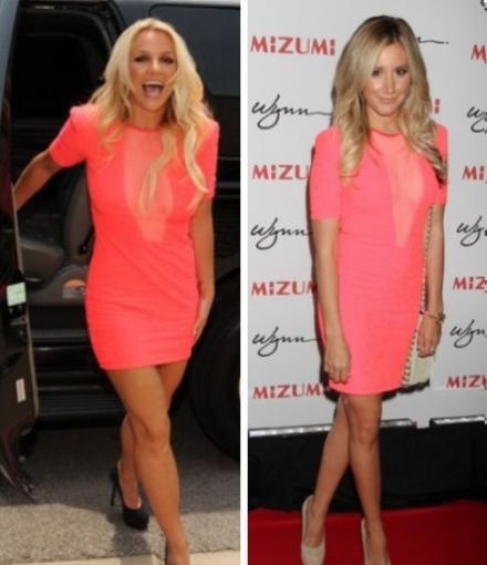 Parmi ces deux chanteuses, laquelle porte le mieux cette robe ?
