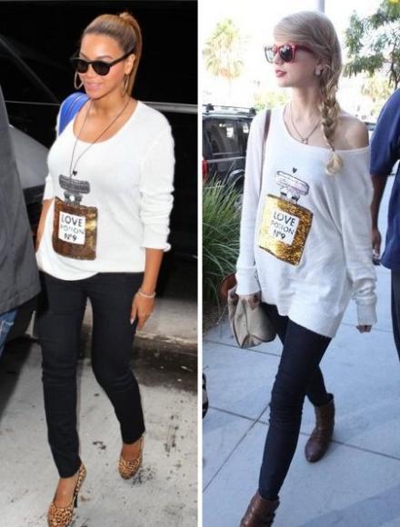 Laquelle des deux porte le mieux ce pull ?