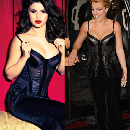 Laquelle porte le mieux cette tenue et en quelle couleur la préfères-tu ?