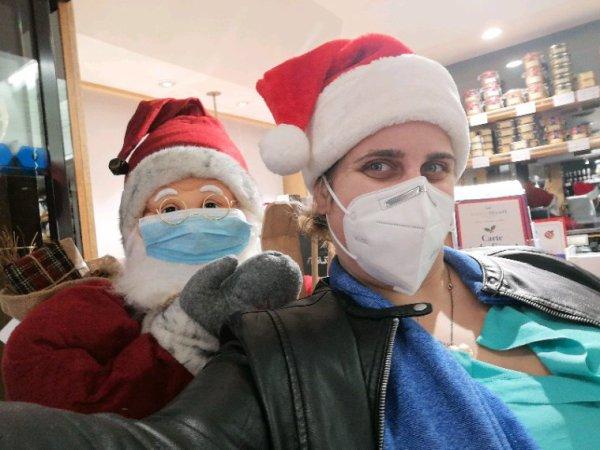 Joyeux Noël masqué