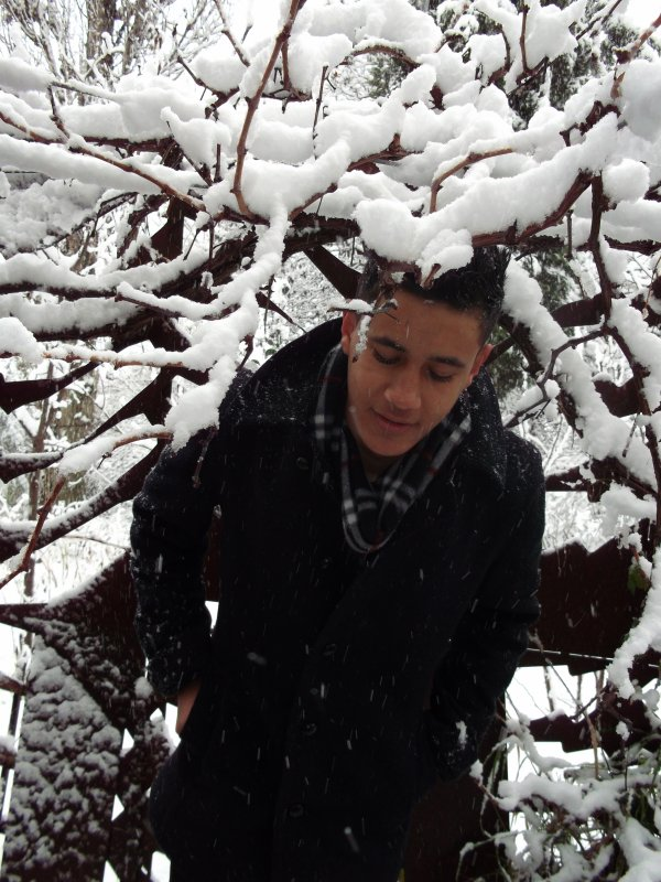 Rafik Delmi , snow falls over me !!
