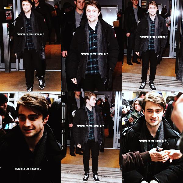 09/02/12 : Daniel dans une Q & A session à Londre