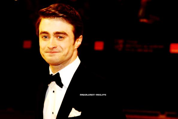 12/02/12 : Daniel présent lors des BAFTA