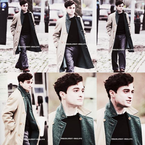 """21/03/12 : Daniel sur le tournage de """"Kill Your Darlings"""""""