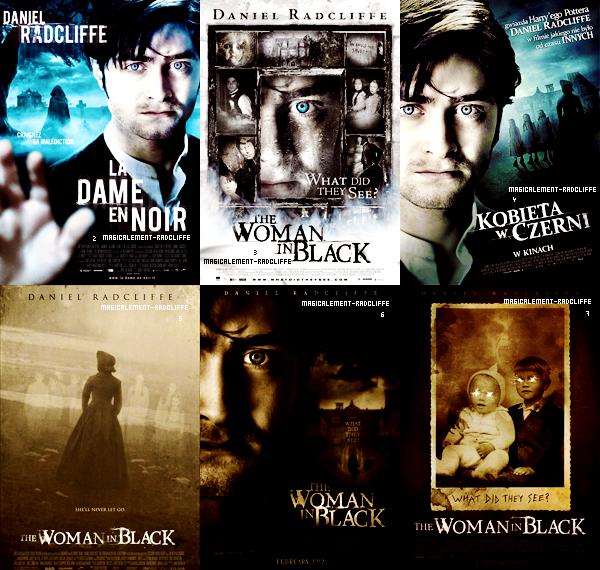 """Affiches Promotionelles """"La Dame En Noir"""" - Laquelle/Lesquelles préfères-tu ?"""