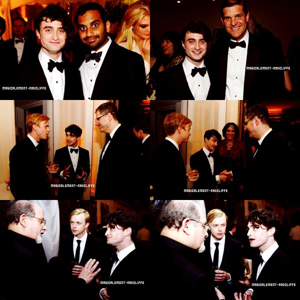 29/04/12 : Daniel au dinner de la White House Correspondents .