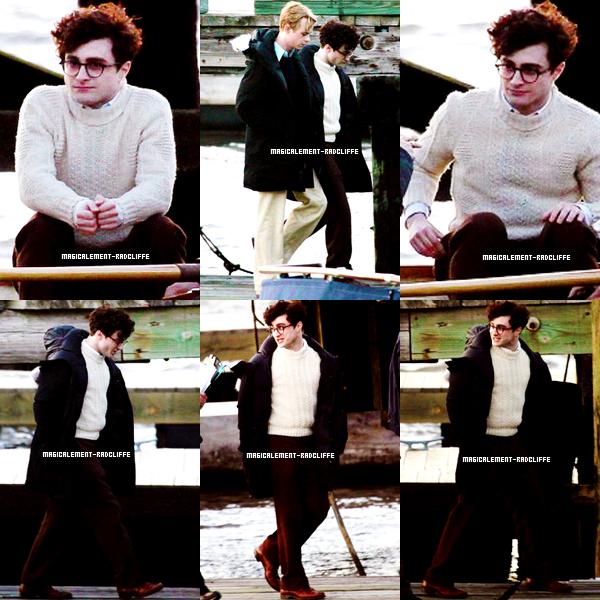 """10/05/12 : Daniel à nouveau sur le tournage de """"Kill Your Darling"""""""