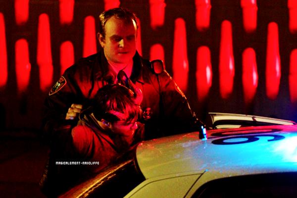 """03/11/12 : Daniel sur le tournage de """"Horns"""""""
