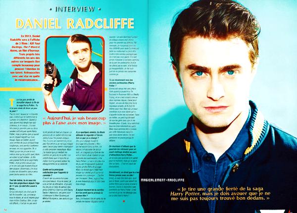 Interview dans le magazine ONE