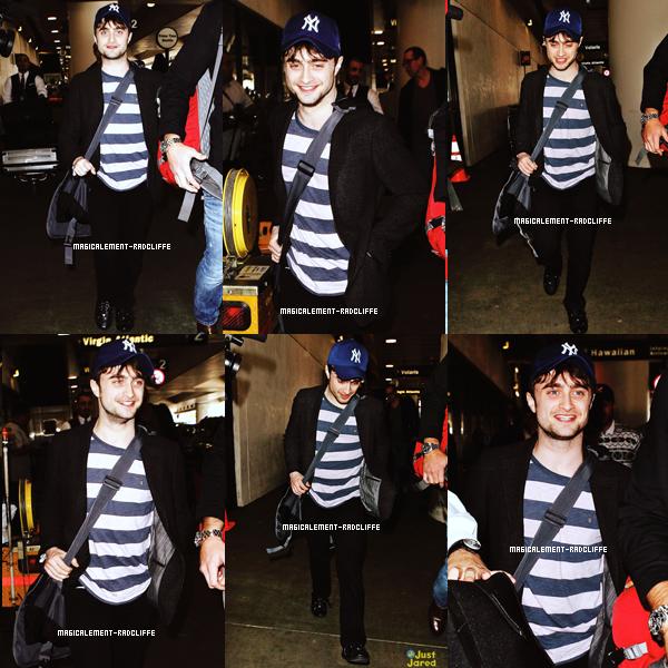 20/02/13 : Dan arrive à l'aéroport de LAX