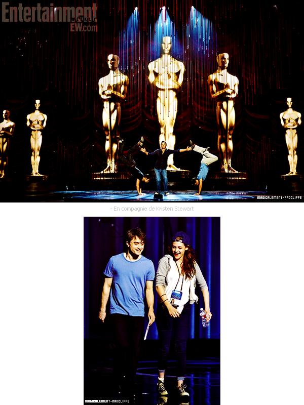 Répétitions de la Cérémonie Des Oscars