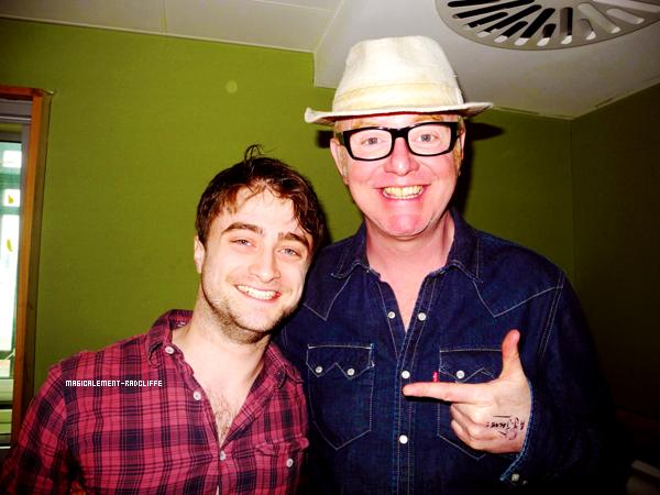 26/04/13 - Daniel était à la BBC Radio 2