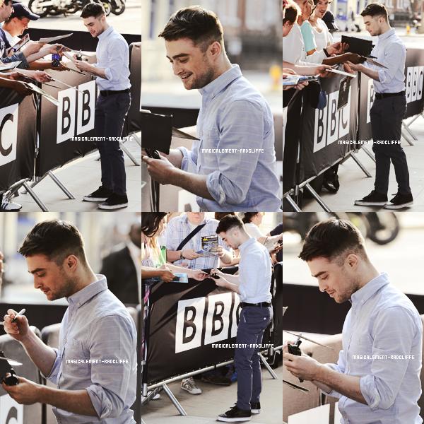 17/07/13 : Daniel était à la BBC Radio 1