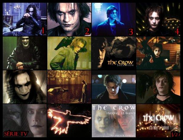 I LOVE  THE CROW !!! tout les films sont excellents ! et les acteurs sont tous aussi beaux les uns que les autres avec leurs maquillages  $)