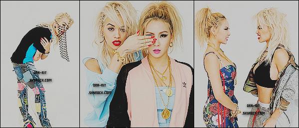 • 18 OCTOBRE 2014 - PHOTOSHOOTDe nouveaux clichés de Rita pour le magasine ELLE KOREA notamment en compagnie d'une chanteuse coréenne. Je vous propose également de découvrir les dessins d'un fan de Rita nommé Deni Gavalcova.