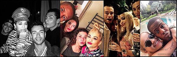 • 21 NOVEMBRE 2014 - PHOTOSHOOT - LONDRES/MARRAKECH Rita fera la couverture du mois de Décembre du magasine L'officiel Singapore. Rita a également fêter son anniversaire a Marrakech au Maroc avec quelques amis a elle.