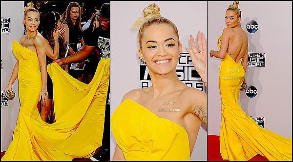 • 23 NOVEMBRE 2014 - EVENT - LOS ANGELES Rita était au American Music Award's.