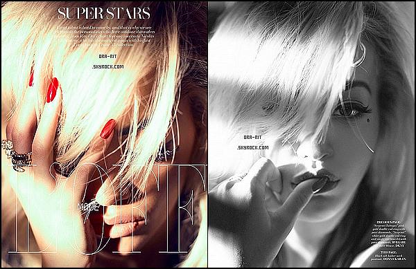 • 8 DECEMBRE 2014 - PHOTOSHOOT - LONDRES De nouveaux clichés de Rita pour L'officiel Singapore sont disponibles.