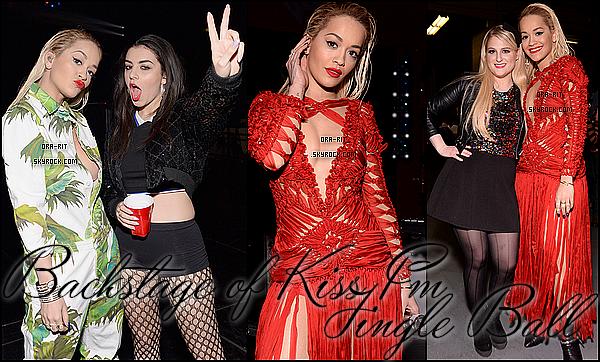 • 18 DECEMBRE 2014 - APPEARANCE/PROMO - CHICAGO Rita, ce jeudi, était présente au 3.5 Kiss FM Jingle Ball 2014. On peut la voir aux côtés d'autres stars tel que Meghan Trainor et Charli XCX. Des nouvelles photos promo pour The Voice de Rita et ses collègues Will.i.am, Tom Jones et Ricky Wilson sont dispo.