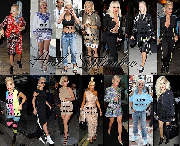 • Voici un petit récapitulatif des tenues que notre Rita a portée tout au long de cette année 2014. Quelle est ta tenue préférée? Et celle que tu aimes le moins?