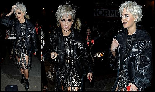 *25/02/15 - Rita été au BRIT Awards 2015 à Londres. Décidemment, Rita s'abonne au tenue transparente ! J'aime tout de même cette tenue car elle la porte merveilleusement bien. *
