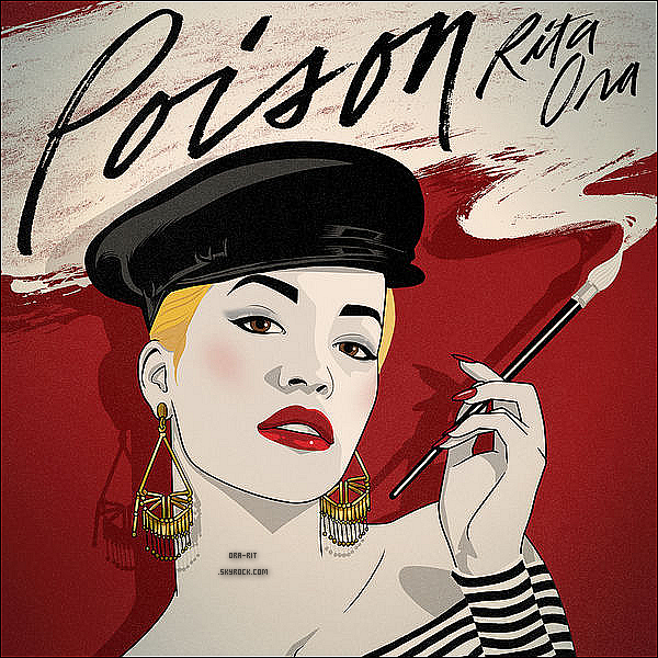 """*Découvrez un extrait du nouveau single de Rita Ora """"Poison"""" en cliquant sur la photo ci-dessous*"""