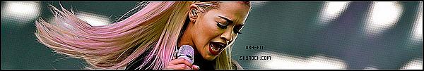 *22/05/15 - Rita était au Gotha Club à Cannes. Tenue et maquillage particulier, mais je dois avouer que j'adore ! Ses cheveux comme ça sont merveilleux ! *