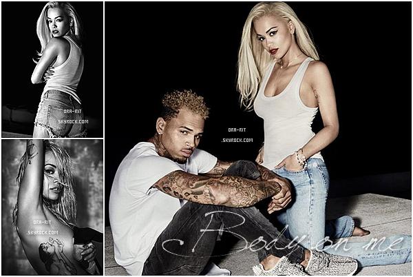 """DECOUVREZ LE SHOOTING PHOTO DE RITA POUR """"Glamour"""" .Découvrez également les photos promo pour le featuring de Rita avec Chris Brown sur la chanson Body on me."""