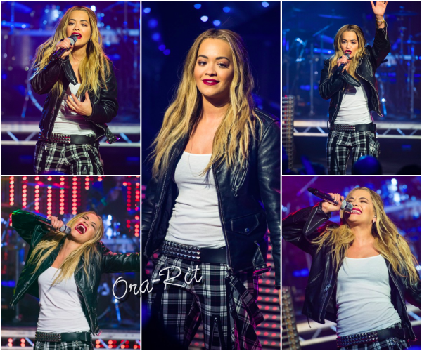 *11/12/15 - Rita a été vue faire une prestation au TFI Friday à Londres. Rita est toujours autant remplie d'énergie sur scène, c'est plaisant à voir! Je la trouve très jolie sur sa mise en beauté, mais moins fan de la tenue.  *