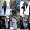 *10/06/17 - Rita a été vue, toute. bouclée et souriante, à l'aéroport de Vancouver. Le 11/06, Rita a été vue faisant du shopping et se baladant dans Beverly Hills. J'aime pas du tout sa tenue. Flop!**